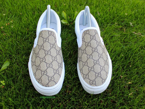 Image of GG Vans Slip-Ons (Stitched)