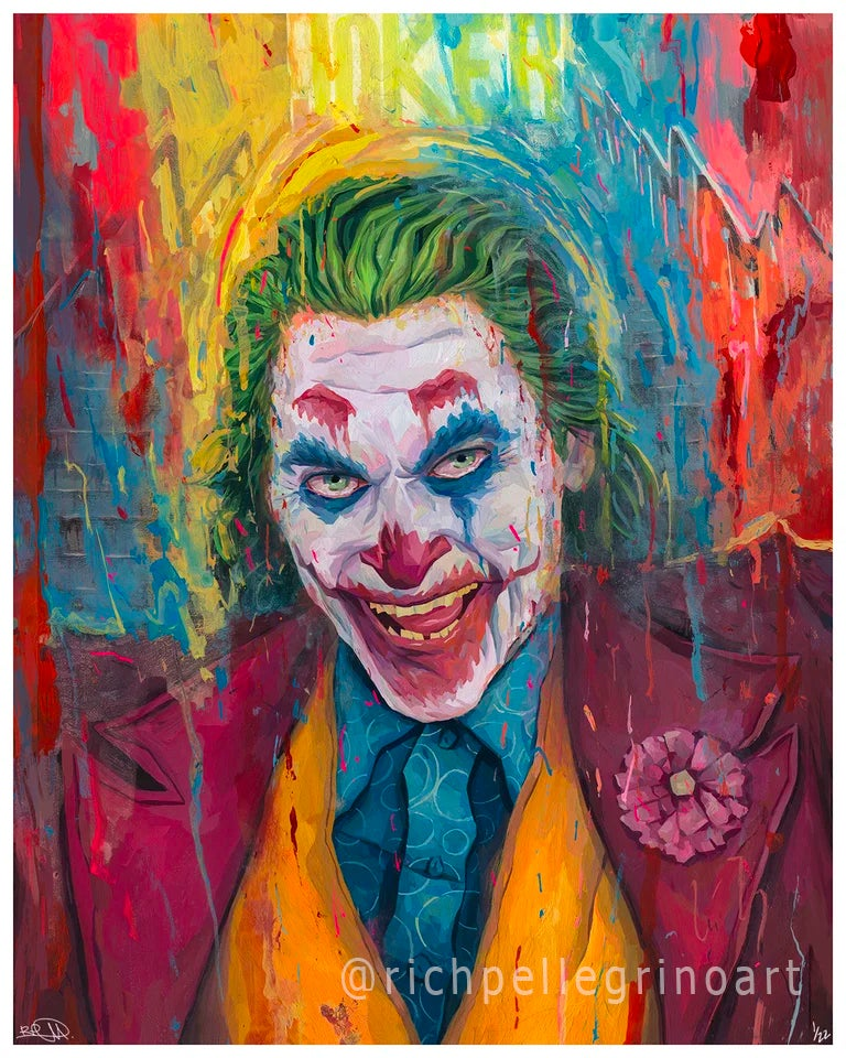 Image of Joker 16x20 Print