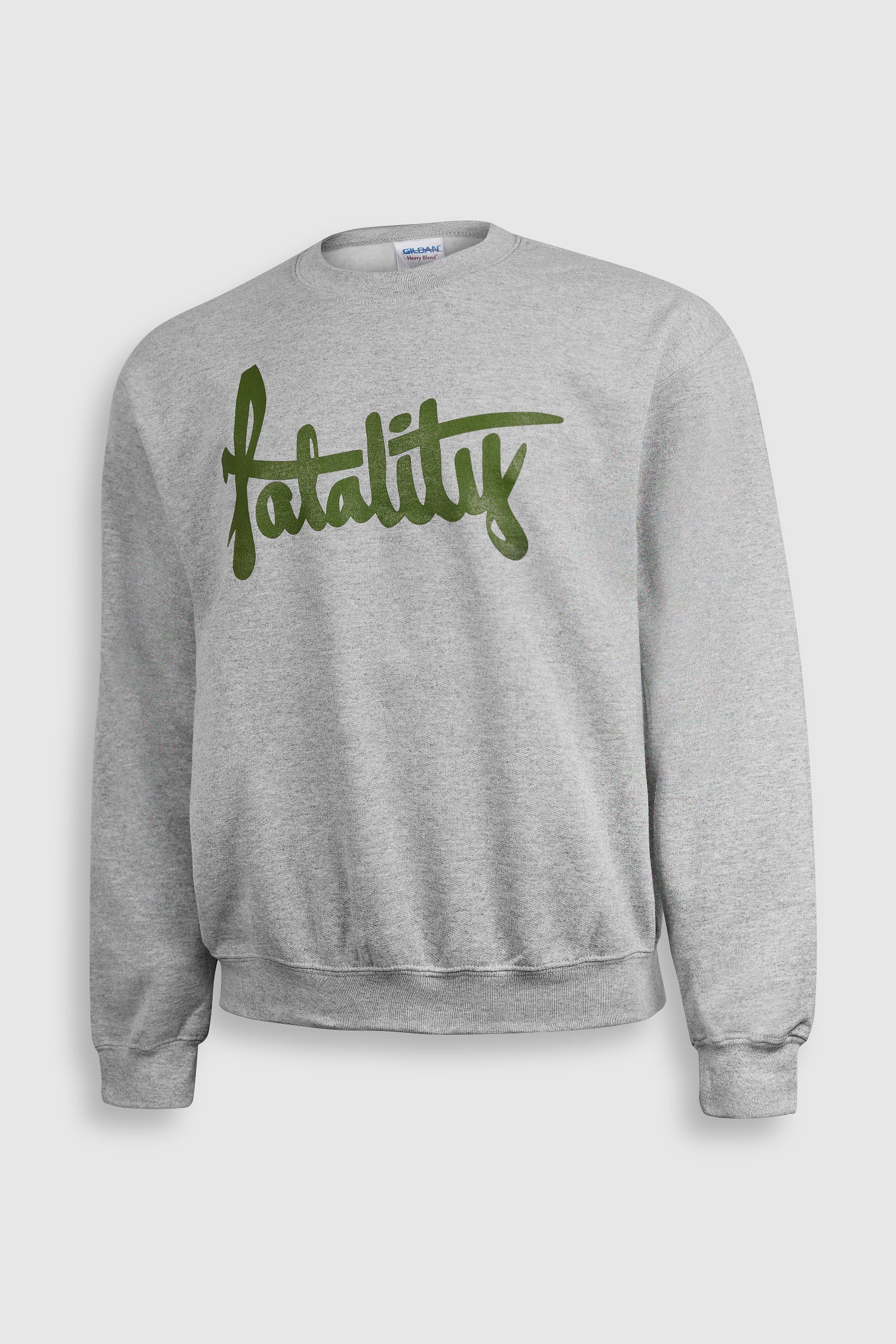 Image of Green print Logo Sweatshirt