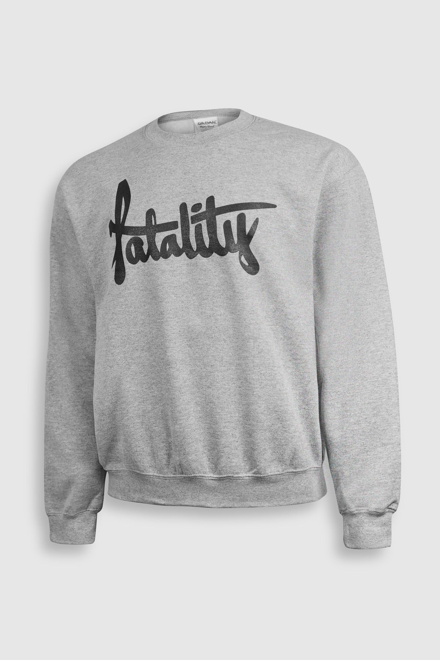 Image of Black print Logo Sweatshirt