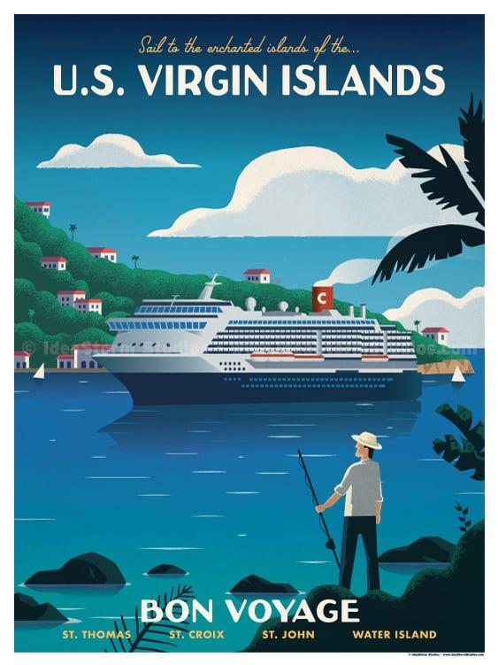 Image of V.I. Cruise Poster