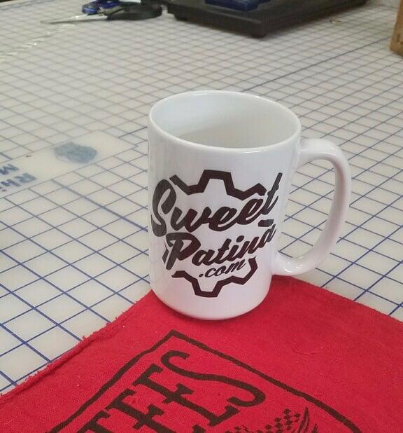 Image of Sweet Patina .com coffee mug 11oz or 15oz