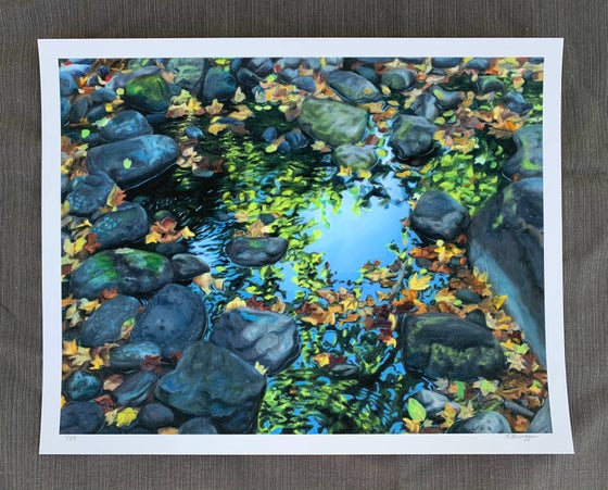 Image of Fall Reflections Giclee Print