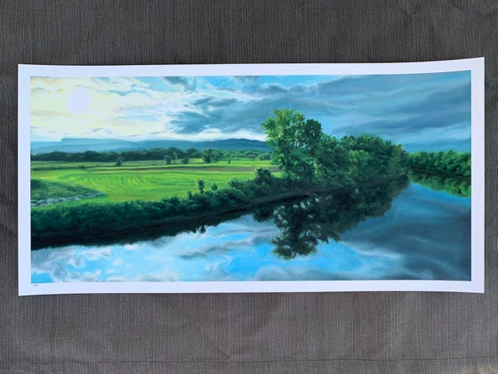 Image of Wallkill River Panorama Giclee Print