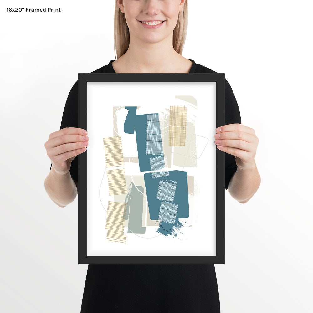 Image of Interwoven Art Print