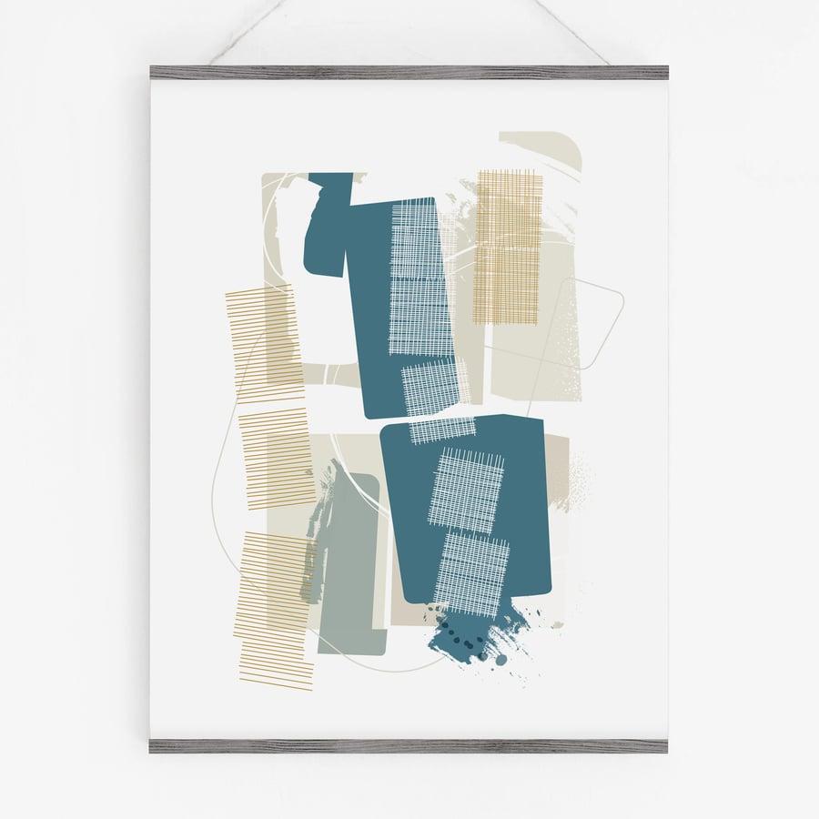 Image of Interwoven Art Print