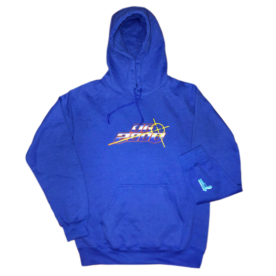 "Image of ""OG CRISIS"" HOODIE *** ROYAL BLUE"