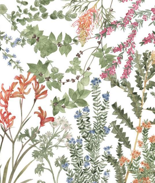 Image of Greeting Card - Wildflower Garden