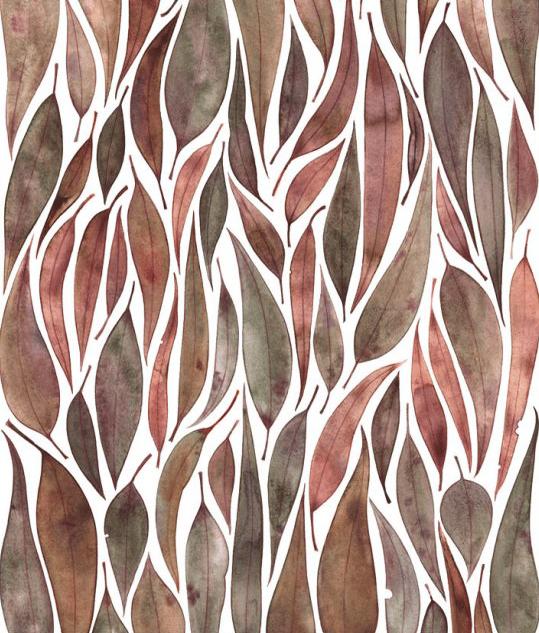 Image of Greeting Card - Eucalyptus Arrangement