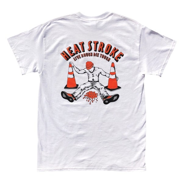 "Image of White ""Heat Stroke"" Tee"