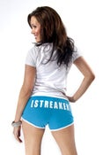 Image of Teal Booty Shorts Polymnia