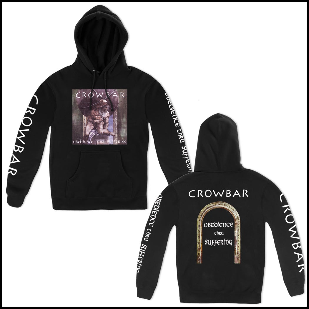 Image of CROWBAR OBEDIENCE HOODED PULLOVER SWEATSHIRT