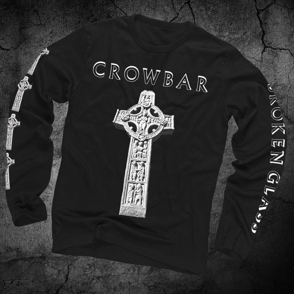 "Image of CROWBAR ""CROSS"" LONG SLEEVE T-SHIRT"