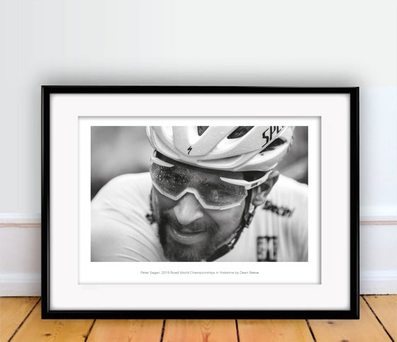 Image of Peter Sagan photography print A4 or A3 - By Dean Reeve