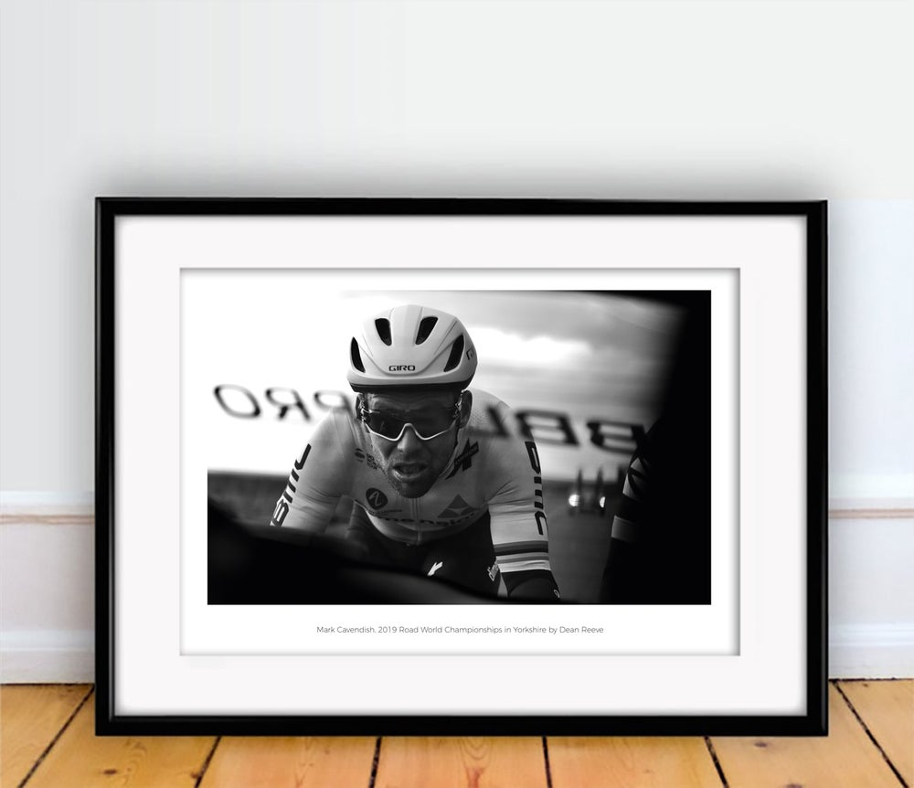 Image of Mark Cavendish photography print A4 or A3 - By Dean Reeve