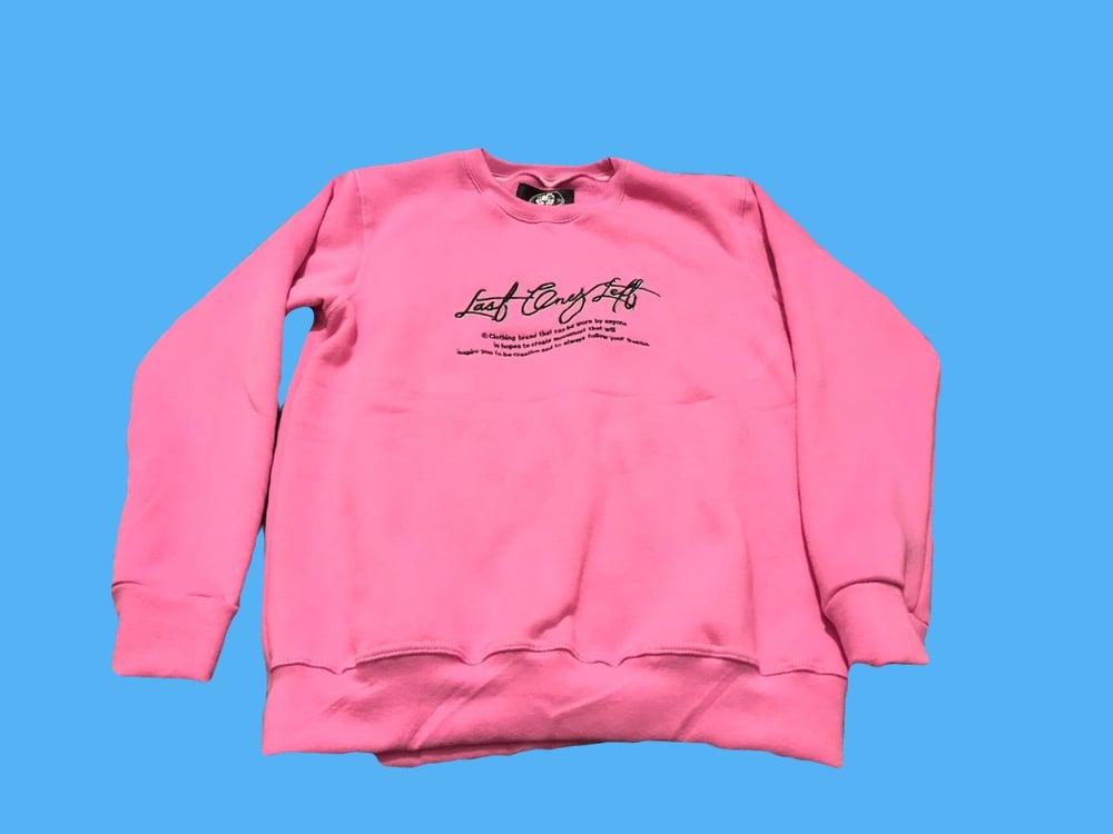 Image of Last Ones Left Pink Sweatsuit Top