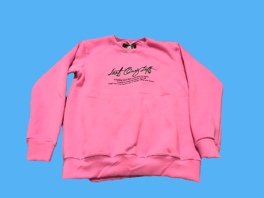 Image of Last Ones Left Pink Sweatsuit Top