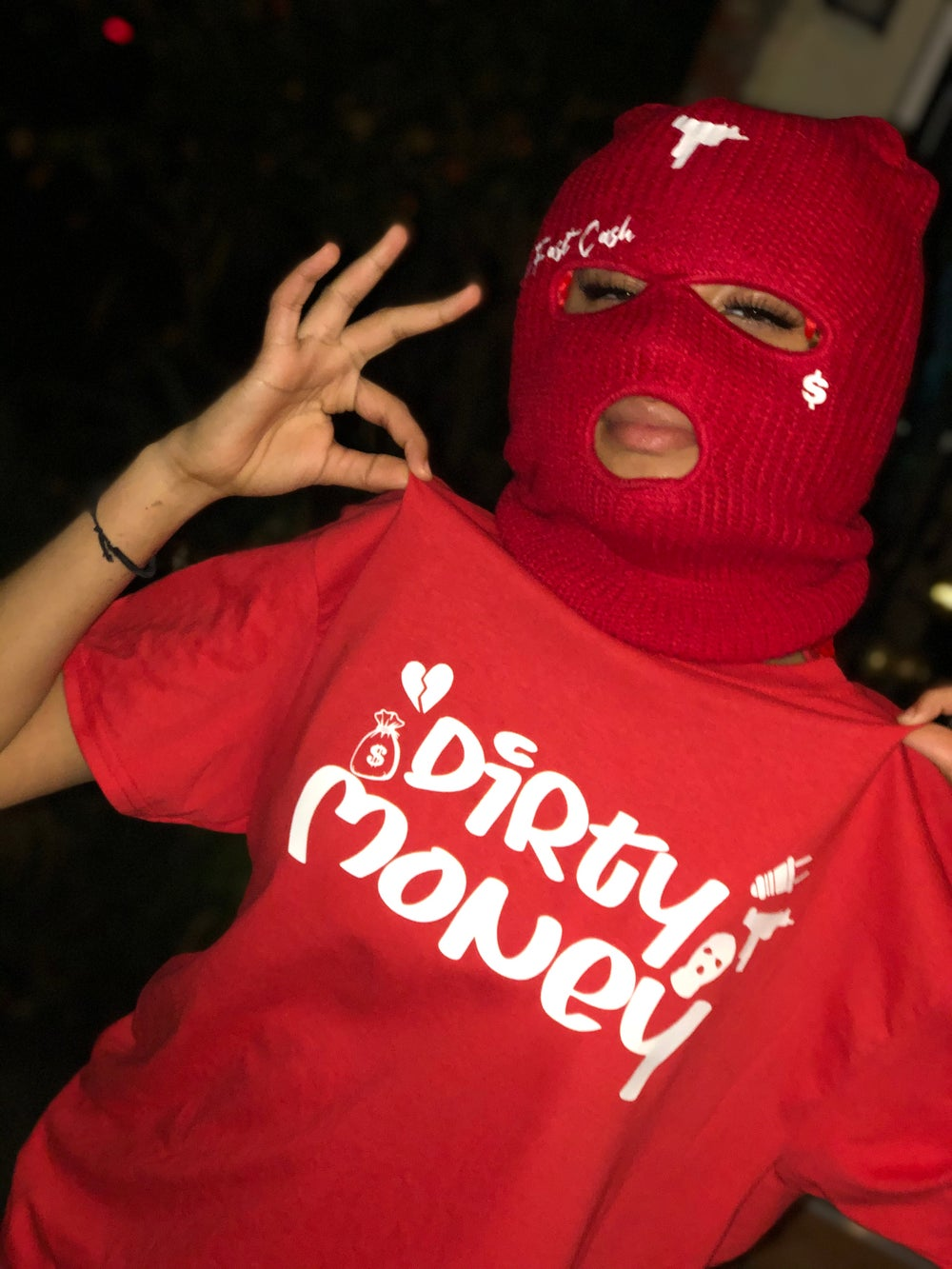 Dirty Money (red)