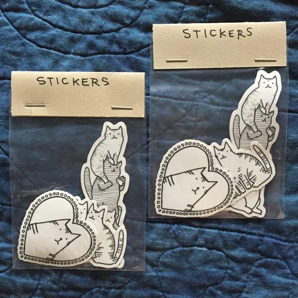 Image of White & Black Sticker Pack