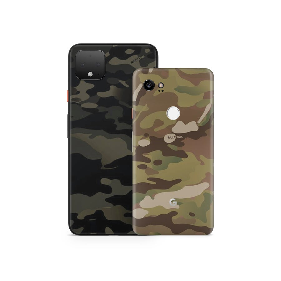 Image of NEW Pixel 4/XL - 3M Official Multicam Google Pixel Phones Skins