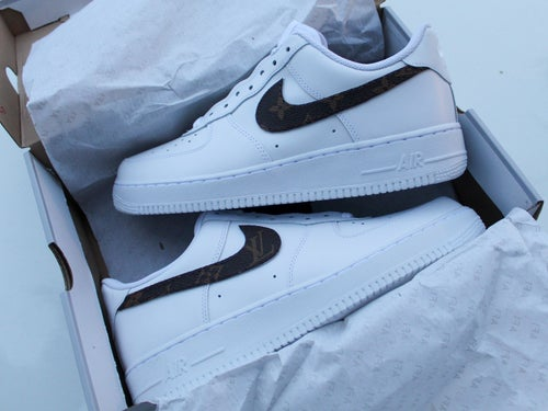 "Image of ""LV Swoosh"" Air Force 1"