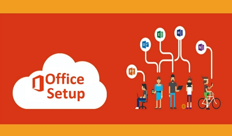 Image of Office is easy to set up from www.office.com/setup