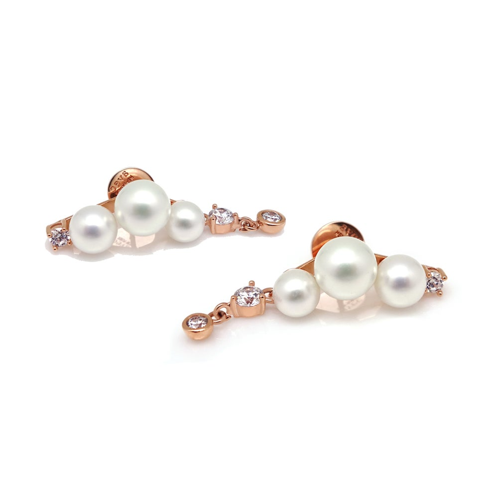 Image of ODYSSEY PEARL STONE EARRING