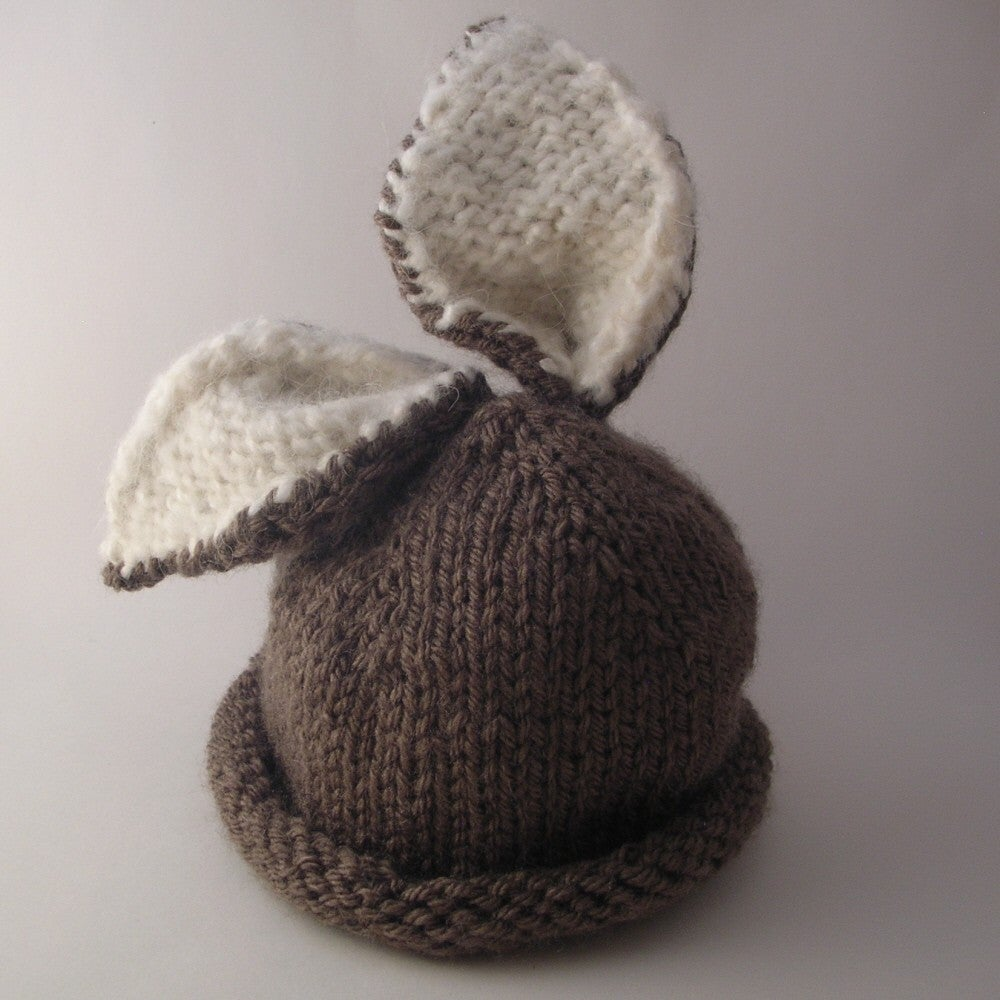 Briar Bunny Baby Hat Knitting Pattern / Knit it Up Yarns