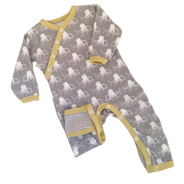 Image of Octopus Organic Baby Clothing