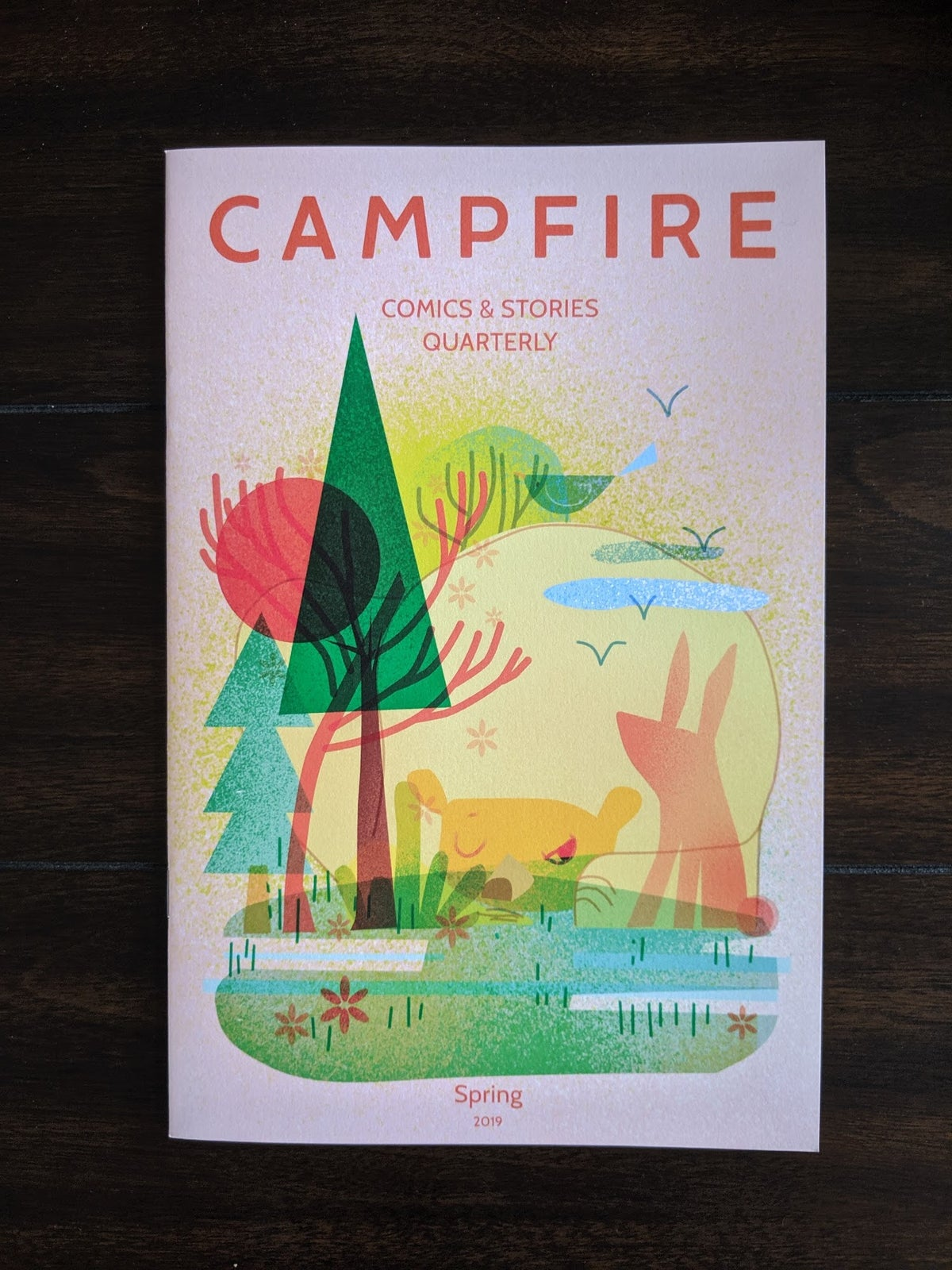 Image of Campfire Comics & Stories Quarterly Spring 2019