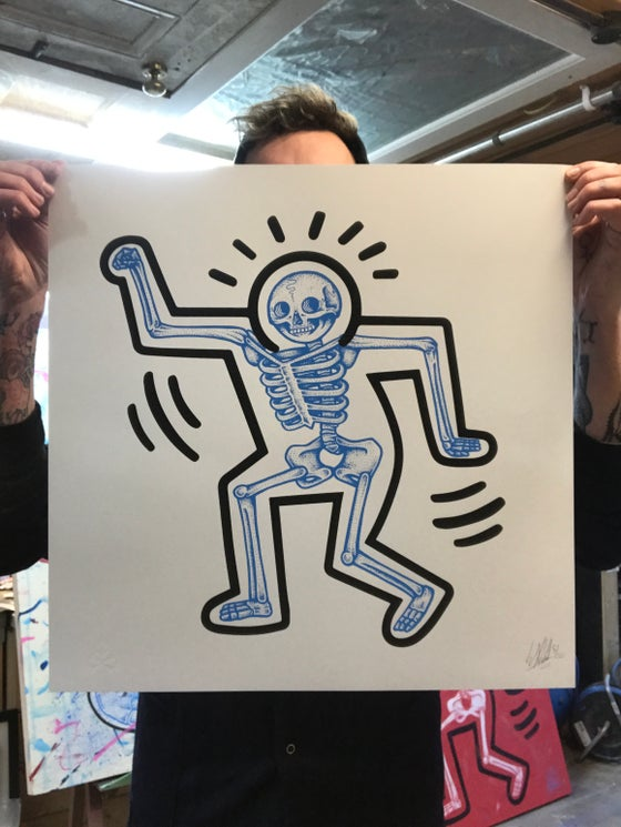 Image of Haring Bone Blue (Regular Edition)