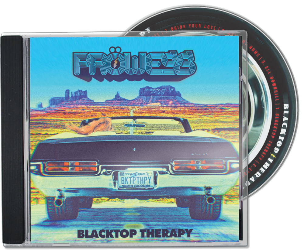 """Image of """"Blacktop Therapy"""" Physical CD & Download"""