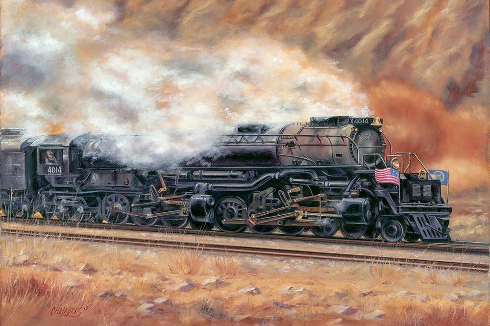 Image of Big Boy 4014 (Canvas Wrap)