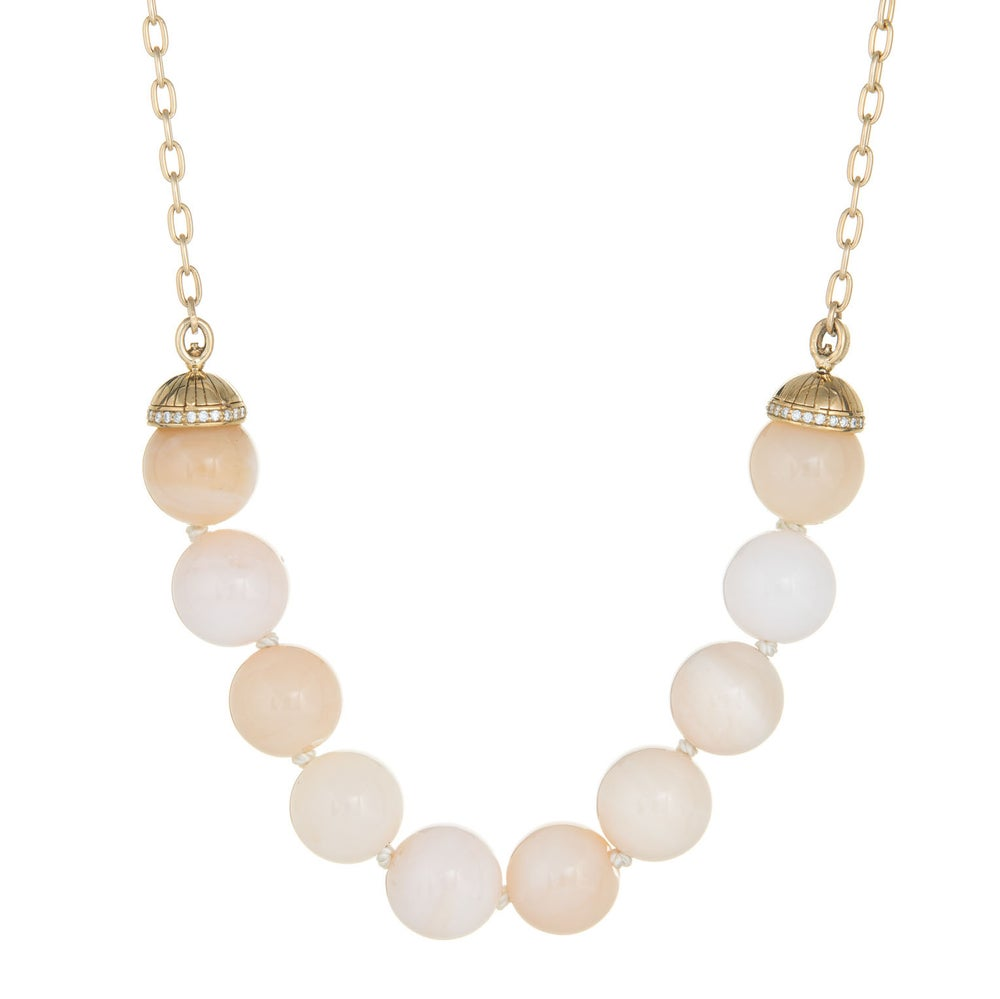 Image of Pink Opal San Simeon Necklace