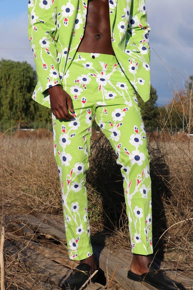 Image of The Kendu pants - neon