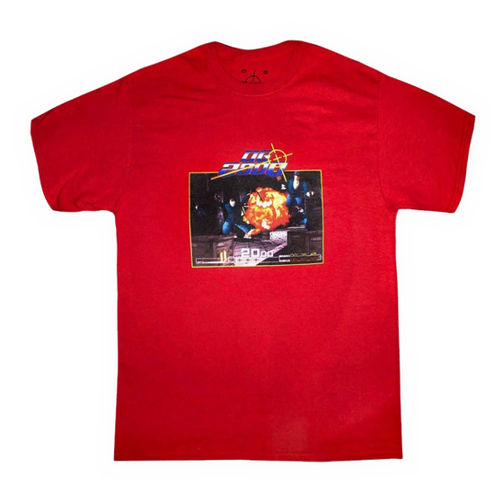 "Image of ""OG CRISIS"" T-SHIRT *** Cardinal Red"