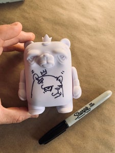 "Image of 4"" DIY Bear Champ Figure"