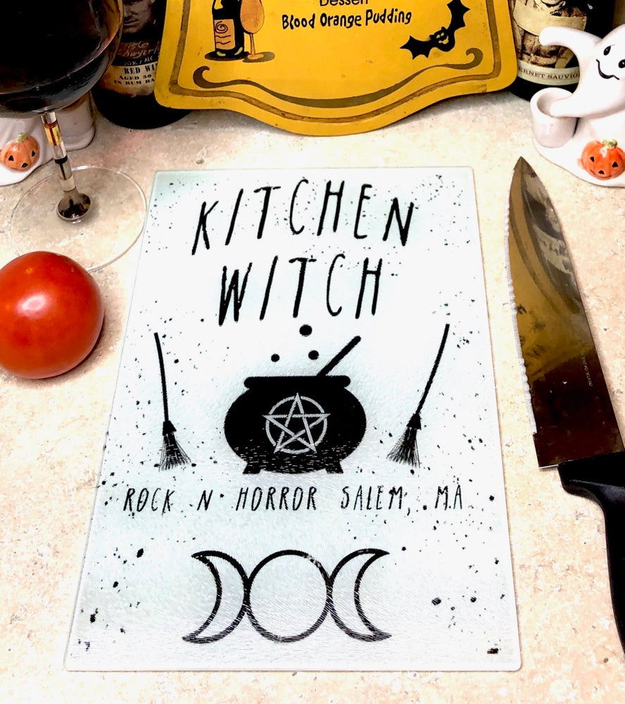 Image of Kitchen Witch Cutting Board
