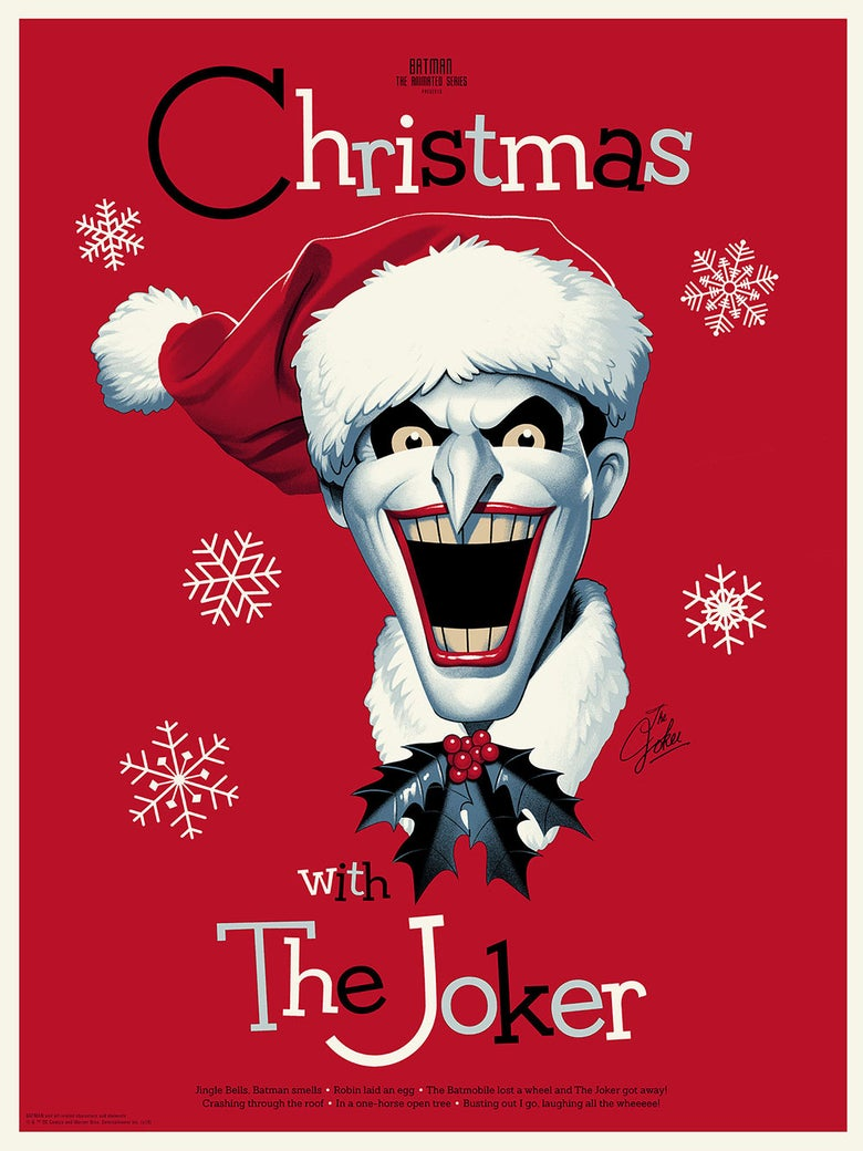 Image of CHRISTMAS WITH THE JOKER (variant)
