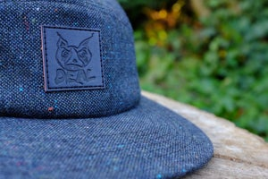 Image of Navy Tweed DWI 5 Panel Hat