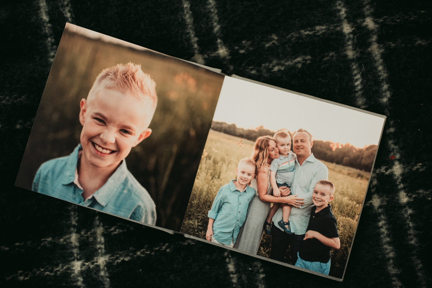 Image of BFP Family Session Photo Book