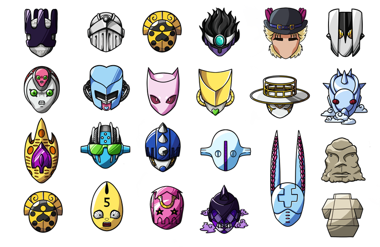 Image of Stickers Full Set