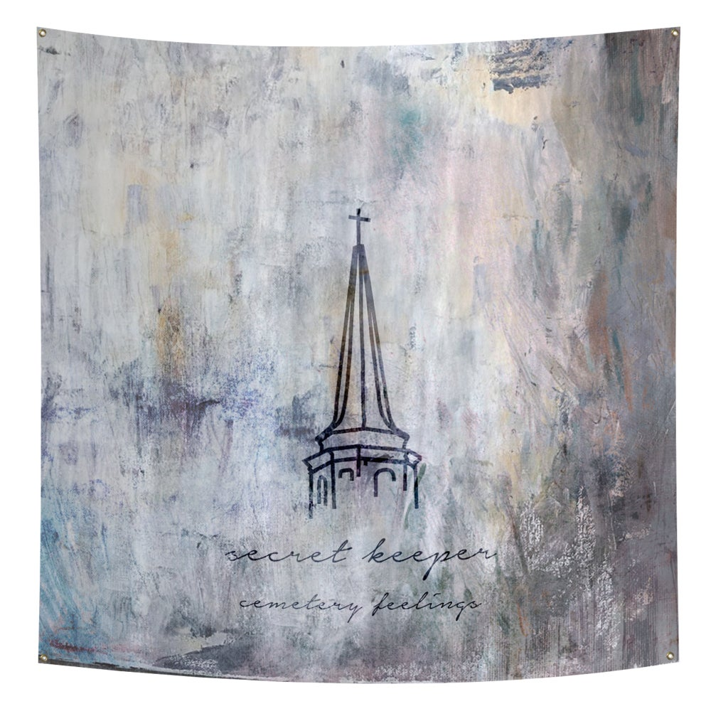 Image of The Cemetery Feelings Wall Flag