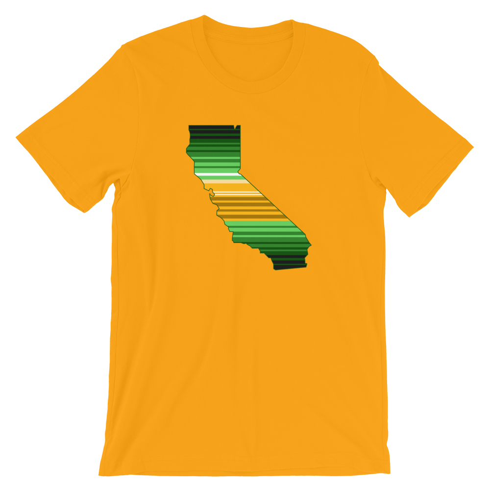 Image of CALIFORNIA ZARAPE T (GOLD)