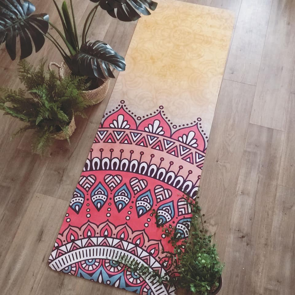 Image of 'India' Yoga Mat