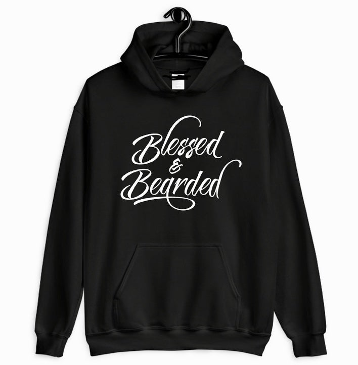 Image of Blessed & Bearded hodie