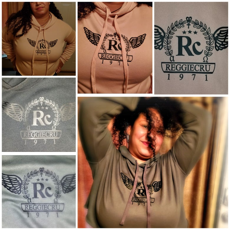 Image of RCru Lady's Crop-Top Hoodie