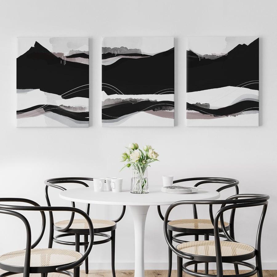 Image of Cascadia Series — 3 Canvas Print Set
