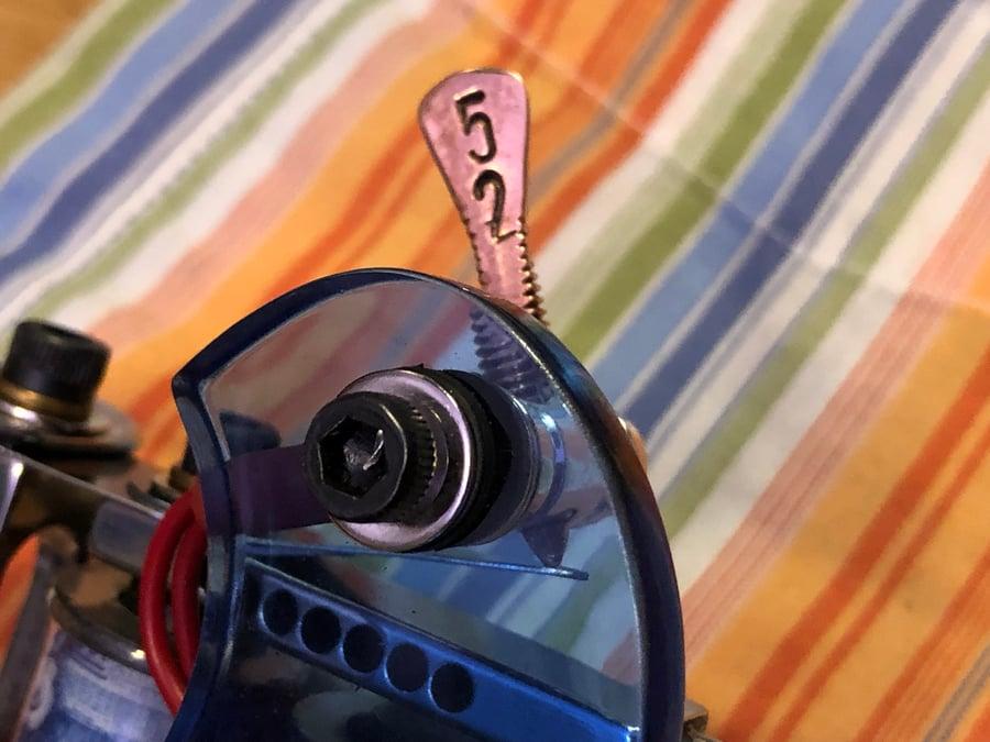 Image of Blue Acrylic Machine