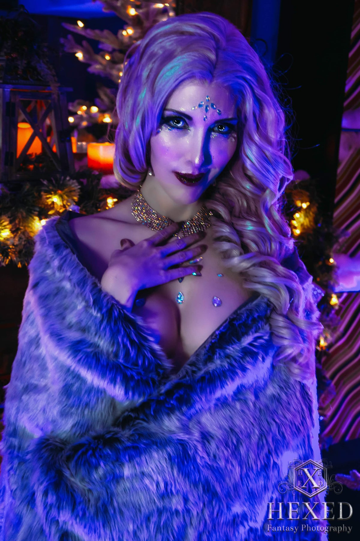 Image of Ice queen Holiday Shoot 2019 (with implied nudes)